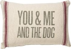 """A cozy gift for true dog lovers! This pillow is a must have! SIZE: 15"""" x 10"""" Cotton, Polyester"""