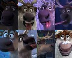sven from FROZEN disney reindeer
