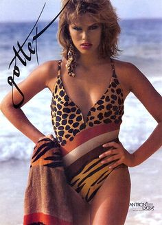 6682dfe1dc7 1980s Gottex Swim Suit One Piece Swimwear, Vintage Lingerie, 80s Fashion,  Bikini Fashion