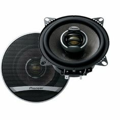 PIONEER TS-D1002R 4 2-WAY SPEAKERS by Pioneer. $38.97. 25W NOMINAL POWER; REVOLUTIONARY BASALT FIBER IMX SPEAKER CONES PROVIDE IDEAL PERFORMANCE & DELIVER AMAZING SOUND