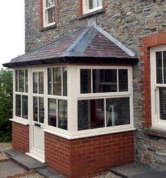 Small porch extension google search decks pinterest for Double glazed porches