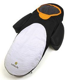 Lit d'appoint gonflable pour enfant Pingouin