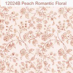 Peach Romantic Floral - ABC Collection