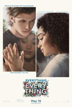 """Amandla Stenberg & Nick Robinson star in """"Everything, Everything"""" movie poster Nick Robinson, Hd Movies Online, New Movies, Movies To Watch, Movies And Tv Shows, Latest Movies, Hd Streaming, Streaming Movies, Everything Everything Movie"""