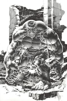 Mike Deodato Jr. always Hulks out w/the best of them...