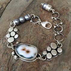 Ocean Jasper Bracelet by Cold Feet Studio