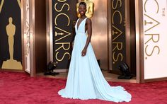 Best dressed Lupita Nyong'o academy awards 2014