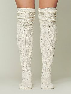 FP Speckled Slouch Tall Sock
