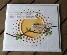 Milo's Scrapgarden: A little bird told me . Memory Box dies NEXT Memory Box Cards, Memory Box Dies, Handmade Birthday Cards, Greeting Cards Handmade, Envelopes Decorados, Feather Cards, Karten Diy, Birthday Card Design, Bird Cards