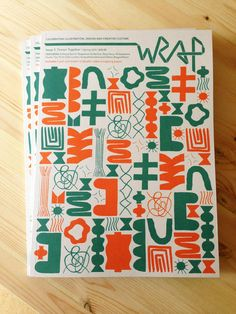Nous Vous for Wrap Mag - Collective mess - Fill your art board