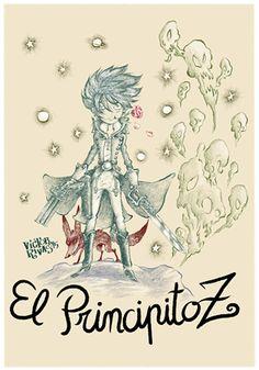 Víctor Rivas Ilustrations: El principito Z