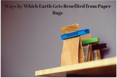 Environment is the number 1 reason to opt for paper carry bags and more and more people are constantly opting to go for shopping with black paper bags. This is any day a better alternative than old plastic bags.