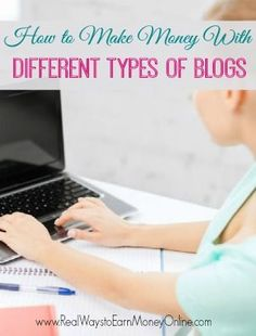 This is a BIG list of ways to make money blogging for all different types of blogs -- food blogs, craft blogs, work from home blogs, savings blogs, and more!
