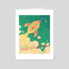 #INPRNT #illustration #art card #art