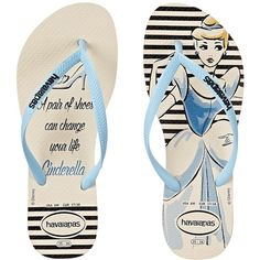 Havaianas Slim Princess Flip Flops Women's Sandals ($30) ❤ liked on Polyvore featuring shoes, sandals, flip flops, slip on sandals, decorating shoes, synthetic shoes, embellished flip flops and embellished shoes