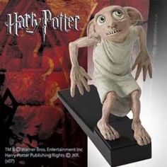 The Harry Potter Dobby Doorstopper - This handpainted doorstopper of Dobby the house-elf stands approx. 15 cm tall and makes a cool gift for any Harry Potter fan. From The Noble Collection. Dobby Harry Potter, Deco Harry Potter, Harry Potter Bedroom, Harry Potter Wizard, Harry Potter Merchandise, Harry Potter Films, Harry Potter World, Slytherin, Hogwarts