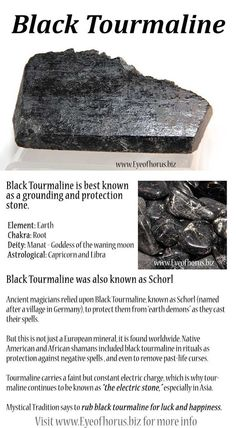 Black Tourmaline history and metaphysical, shamanistic use