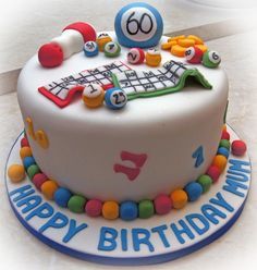 Bingo Cake - For all your cake decorating supplies, please visit craftcompany.co.uk