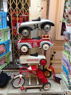 Street Toys in Old Town Antibes Antibes France, Tricycle, Old Town, Street, Toys, Old City, Activity Toys, Clearance Toys, Gaming