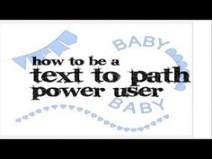 Power tips for text to path in Silhouette Studio. THE MOST concise tutorial from a wonderful lady who share so much with Silhouette community!