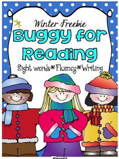 FREE - Buggy for Reading - Winter #FREE  #TeachersFollowTeachers