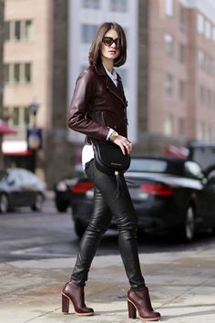 SANDRO Jacket Marc By Marc Jacobs Bag Ray Ban Sunglasses Vince Pants How To Wear Vince Pants > Vince Pants on Chictopia >