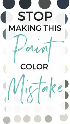 How to choose the right interior painting colors. How to figure out your undertones. How not to make the same mistake with paint that I made.