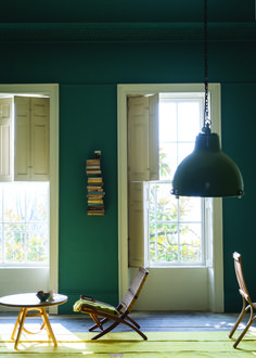 At Remodelista, we're longtime devotees of UK premium paint brand Farrow & Ball. Farrow & Ball colors are among the most complex we'v Farrow Ball, Farrow And Ball Paint, Room Colors, Paint Colors, Colours, Wall Colors, Teal Paint, Interior Walls, Interior And Exterior