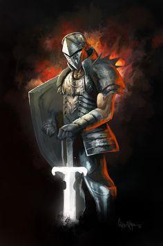 fantasy death knight on Pinterest | Knight, Death Knight ...