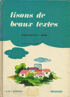 Manuels anciens: Lisons de beaux textes Cours Moyen 1ère année (1979)