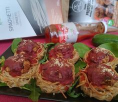 Paradicsomos fasírtgolyó spagettifészekben 9db - NAGYON JÓ