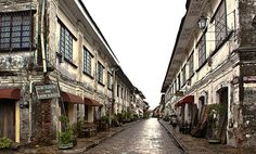 New Seven Wonders of the World Vigan, Philippines With well-preserved Spanish colonial churches and homes as part of its attraction, Vigan the only city in the Philippines included in the list of the UNESCO World Heritage Sites and Monuments. Voyage Philippines, Visit Philippines, Philippines Travel, New Seven Wonders, Wonders Of The World, Ilocos, Asia, Top Destinations, Old World Charm