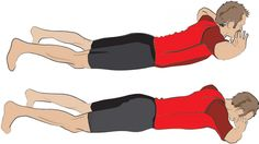 Here s how to do back extensions     lie on your front then lift your torso