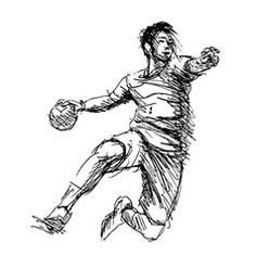 Hand sketch handball players vector – My Friends Page Form Drawing, Drawing Sketches, Drawings, Handball Players, Volleyball Games, Hand Sketch, Pin Collection, Vector Art, Tatoos
