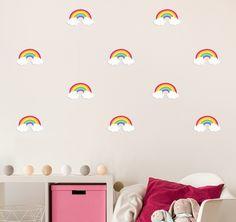 Mini Rainbow Wall Decals