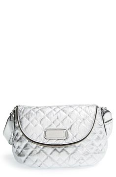 MARC BY MARC JACOBS 'Natasha' Quilted Leather Crossbody Bag available at #Nordstrom
