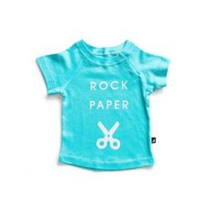 Anarkid – Rock Paper Scissors Raglan Tee All our garments are made from GOTS certified organic interlock cotton and made in India under fair trade terms and conditions.  The cotton in our Domino Playsuit  is super soft and safe on your little ones skin.  Featuring a button up neck.