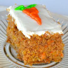 Isaac's Carrot Cake. A unique change to carrot cake. The cake uses mandarine oranges. I used 3 fruit cups drained mandarin oranges.  I loved it and my husband thought it was wonderful! #Myallrecipes #AllrecipesAllstars  #AllrecipesFaceless