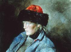 Andrew Wyeth-- helga