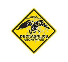 Duck Commander Duckaholics Metal Sign #scheels #duckdynasty