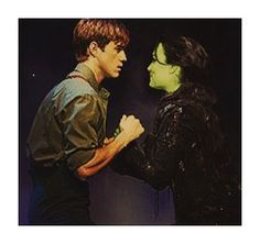 This needs to happen PLEASE LORD let Sam as Elphaba and Aaron as Fiyero in the Wicked movie