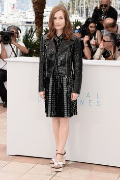 """Isabelle Huppert Photos - """"Louder Than Bombs"""" Photocall - The 68th Annual Cannes Film Festival - Zimbio"""