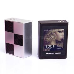 TOUCH BOX-100W Electronic Cigarette Box (Touch Screen, Temperature Control) Stainless steel color #madeinchina #e-cigs >http://dxurl.com/RR0v