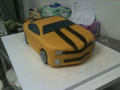 Camaro Car Cake for a 16 year olds birthday