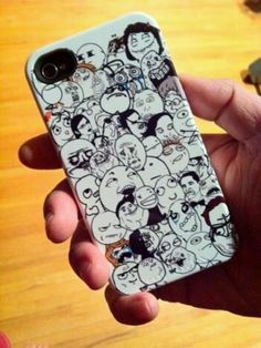 Troll face iPhone case i need this. I will carry it around Everywhere.