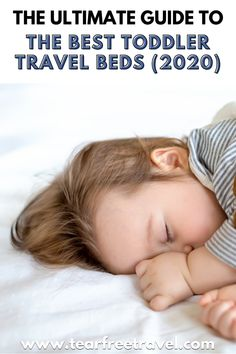 Are looking for the best toddler travel bed? Do you want a travel bed That will last a long time and fit a tall toddler? This was exactly our dilemma when we were evaluating the best portable cribs for travel. Here are some of the best toddler travel beds that wouldn't need to be replaced every time our kids grew a few inches! #toddlerbed #travelbed #travelbedforkids Toddler Travel Bed, Baby Travel Bed, Travel Tips With Baby, Packing List For Travel, Packing Lists, Traveling With Baby, Travel With Kids, Family Travel, Travel Guide