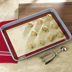 CHEFS Silicone Baking Sheet Liner | CHEFScatalog.comReusable baking sheet liner makes any surface nonstick.
