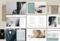 Wedding Photography Marketing Magazine Guide Create a gorgeous high-end wedding welcome guide for your photography studio!  Send clients your pricing and information about your photography business in the form of a beautiful magazine! With professionally written text along with customizable fonts & colors, youll have a versatile package to deliver to your clients as a digital guide or as a beautifully printed 8.5x 11 welcome packet. Complete instructions guide you through customizing as ...
