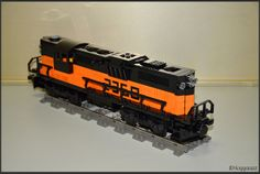 Lego EMD train | Flickr - Photo Sharing!
