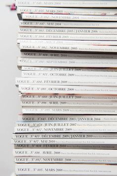 Vintage Magazine Stacks
